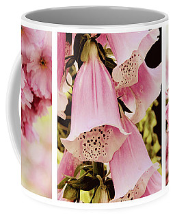 Coffee Mug featuring the photograph Spring Assemblage Triptych by Jessica Jenney