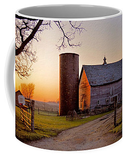 Spring At Birch Barn Coffee Mug