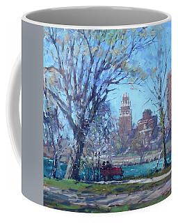 Spring At Goat Island Coffee Mug