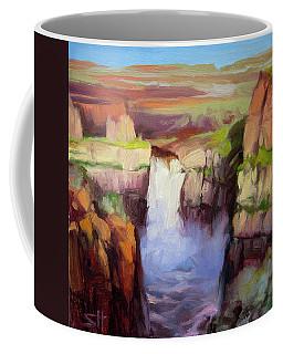 Spring At Palouse Falls Coffee Mug