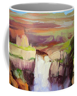 Spring At Palouse Falls Coffee Mug