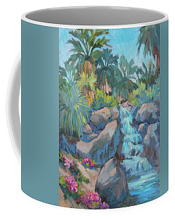 Coffee Mug featuring the painting Spring At The Living Desert by Diane McClary