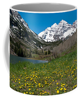 Spring At The Maroon Bells Coffee Mug