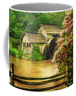 Spring At The Mill Coffee Mug