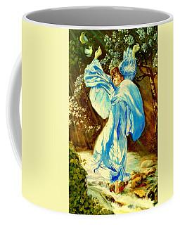 Coffee Mug featuring the painting Spring - Awakening by Henryk Gorecki
