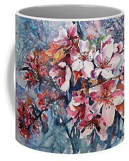 Coffee Mug featuring the painting Spring Beauty by Kovacs Anna Brigitta