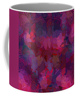 Coffee Mug featuring the digital art Spring Bloom by Karo Evans