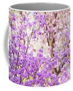 Coffee Mug featuring the photograph Spring Bloom Of Rhododendron  by Jenny Rainbow