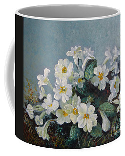 Coffee Mug featuring the painting Spring Blooms by Elena Oleniuc