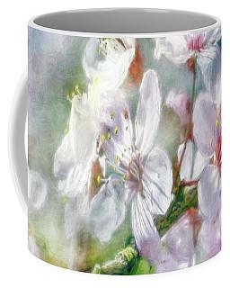 Spring Blossoms Coffee Mug by Jean OKeeffe Macro Abundance Art