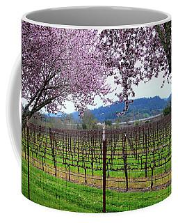 Spring Blossoms Near Calistoga Coffee Mug