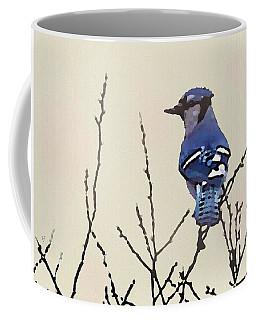 Spring Bluejay Coffee Mug