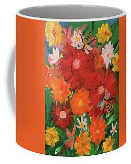 Spring Bumble Bees Coffee Mug