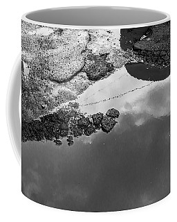 Spring Clouds Puddle Reflection Coffee Mug
