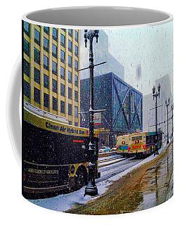 Spring Day In Chicago Coffee Mug by Dave Luebbert