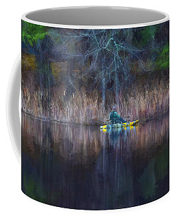 Spring Fishing Coffee Mug by Tricia Marchlik