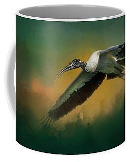 Coffee Mug featuring the photograph Spring Flight by Marvin Spates
