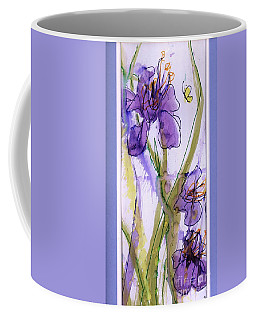 Coffee Mug featuring the painting Spring Fling by P J Lewis