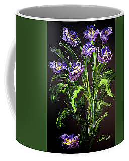 Coffee Mug featuring the painting Spring Floral by Alan Lakin
