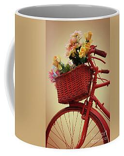 Spring Flower Bike Coffee Mug