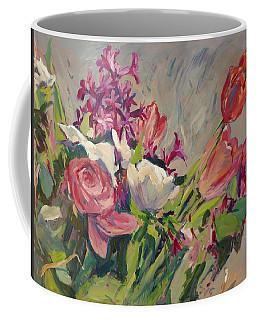 Spring Flowers Bouquet Coffee Mug