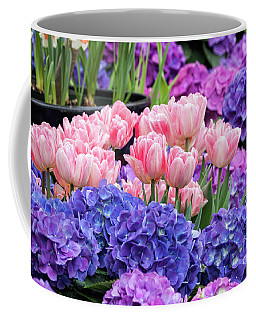 Coffee Mug featuring the photograph Spring Flowers by Darleen Stry