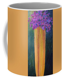 Coffee Mug featuring the painting Spring Flowers by Nancy Jolley
