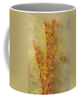 Spring Forsythia Coffee Mug by Catherine Alfidi