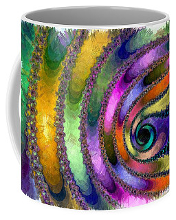 Spring Garden Abstract Coffee Mug by Maciek Froncisz