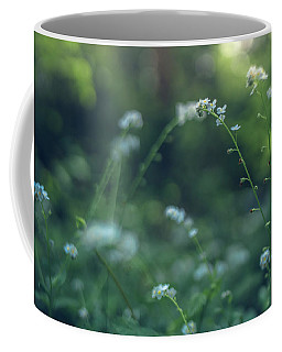Coffee Mug featuring the photograph Spring Garden Scene #1 by Gene Garnace