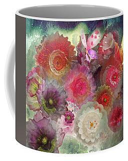 Spring Glass Coffee Mug