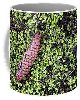 Spring Green 10 Coffee Mug by Mary Bedy
