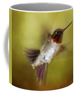 Spring Hummingbird Coffee Mug by TnBackroadsPhotos