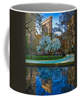 Coffee Mug featuring the photograph Spring In Madison Square Park by Chris Lord
