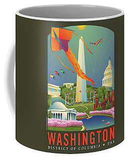 Spring In Washington D.c. Coffee Mug