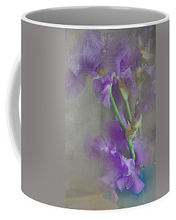 Coffee Mug featuring the photograph Spring Iris Bouquet by Jeff Burgess