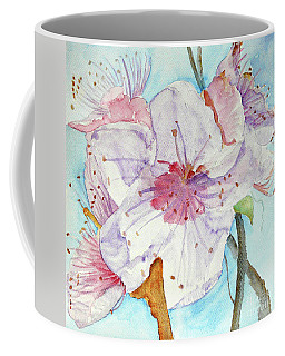 Coffee Mug featuring the painting Spring by Jasna Dragun