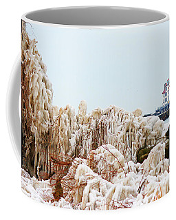 Spring Lighthouse Coffee Mug