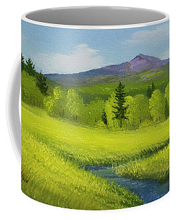 Spring Meadow Brook Coffee Mug
