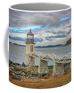 Coffee Mug featuring the photograph Spring Morning At Marshall Point by Rick Berk