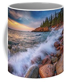 Spring Morning In Acadia National Park Coffee Mug by Rick Berk
