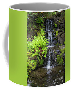 Spring Morning Waterfall Coffee Mug