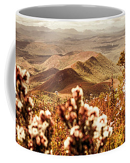 Spring Mountain Blossoms Coffee Mug