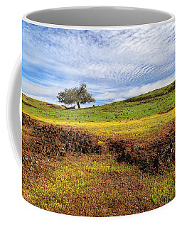 Coffee Mug featuring the photograph Spring On North Table Mountain by James Eddy