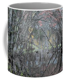 Spring On The Backwater Coffee Mug by John Selmer Sr