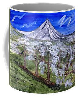 Spring On The Hood Coffee Mug