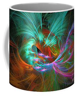 Spring Riot - Abstract Art Coffee Mug