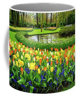 Spring Scenery Coffee Mug by Anastasy Yarmolovich