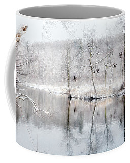 Spring Snow Coffee Mug