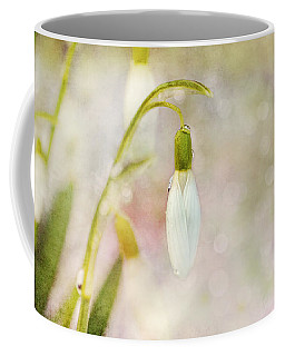 Spring Snowdrops And Bokeh Coffee Mug